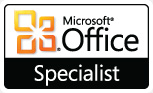 Microsoft Office Specialist certification Excel 2010
